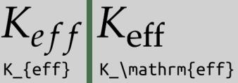 K_eff